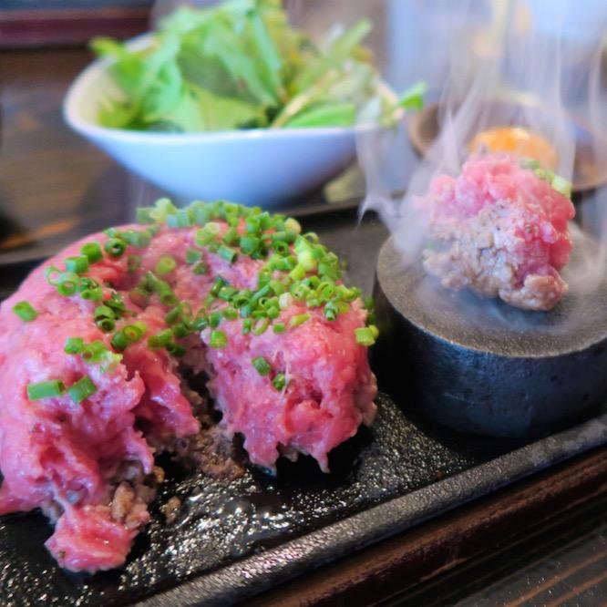 A5熟成肉アカミヤコウシ(Akamiya Cowsi)のハンバーグランチが激ウマ!@福岡市中央区春吉