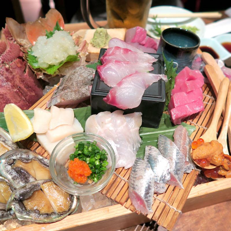 KBCドォーモでEXILEのケイジが行った「磯ぎよし 下川端店」の鮮魚がマジ美味い!